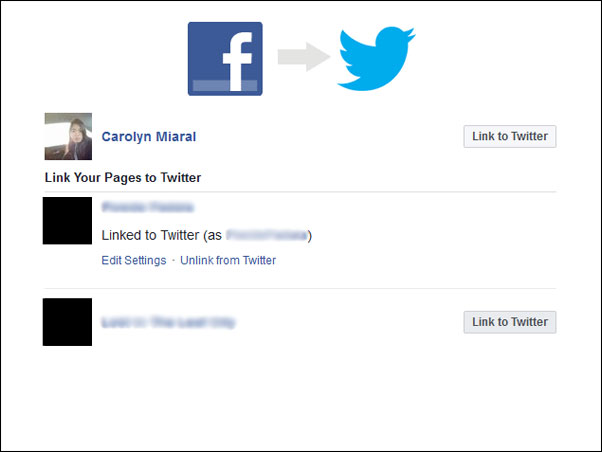How to Post from Facebook to Twitter