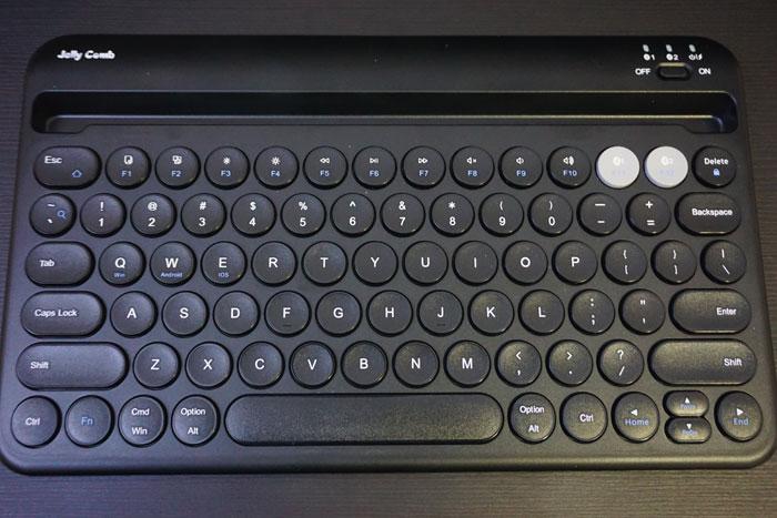 B046 Jelly Comb Bluetooth Keyboard